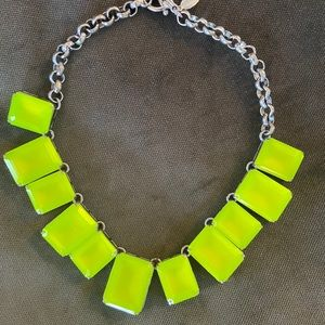 Ann Taylor Neon Necklace